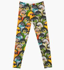 Too Many Birds! - Conure Squad Leggings