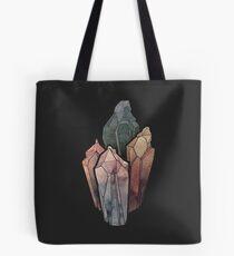 Bolsa de tela Cristales oscuros de acuarela
