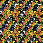 Too Many Birds! - Lovebird Squad by MaddeMichael