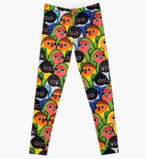 Too Many Birds! - Lovebird Squad Leggings