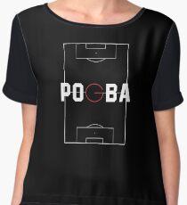 paul pogba Women's Chiffon Top