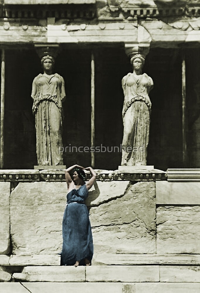 Isadora Duncan by princessbunhead
