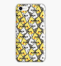Too Many Birds! - Cockatiel Squad iPhone Case/Skin