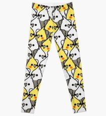 Too Many Birds! - Cockatiel Squad Leggings
