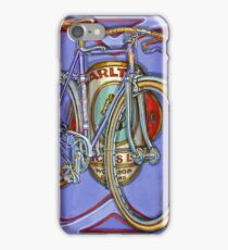 Lilac Carlton Porteur iPhone Case/Skin