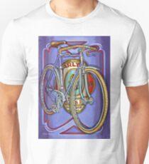 Lilac Carlton Porteur Unisex T-Shirt