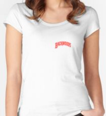 backwoods tobaccp Women's Fitted Scoop T-Shirt