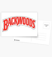 backwoods tobaccp Postcards