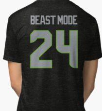BEAST MODE - 24 Tri-blend T-Shirt