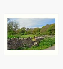 Manorbier Castle Art Print