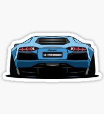 LB Lamborghini Aventador Sticker