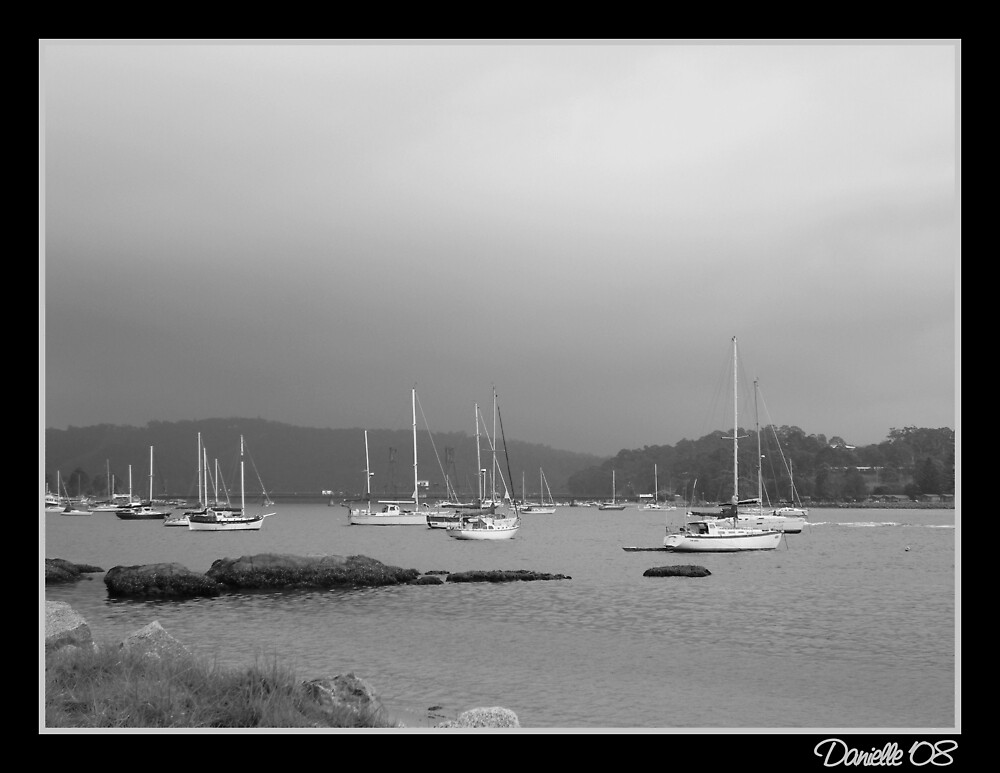 Boats in B&W by DanielleM