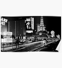 """""""Vegas Strip"""" Poster"""