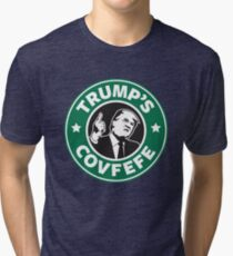 Trump's Covfefe Tri-blend T-Shirt