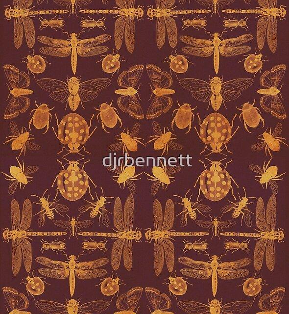 'A Handbook of Entomology' cover design by djrbennett