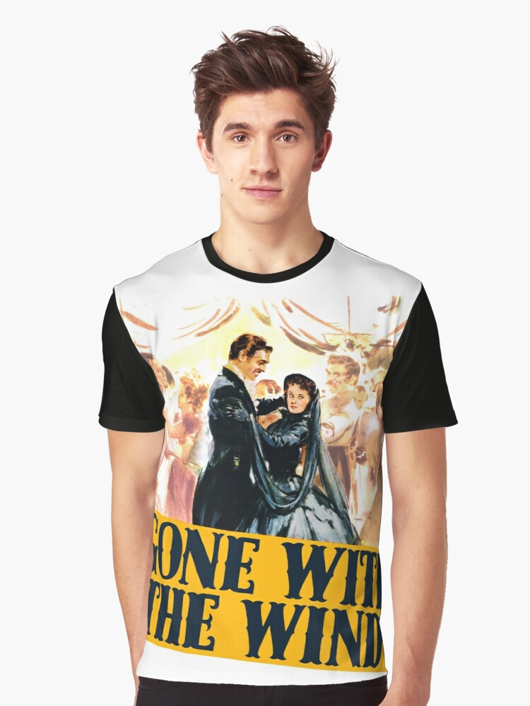 Gone with the Wind Graphic T-Shirt Front