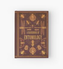 'A Handbook of Entomology' cover design Hardcover Journal