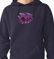 Invading The Third Dimension Pullover Hoodie