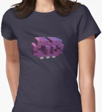 Invading The Third Dimension Women's Fitted T-Shirt