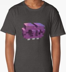 Invading The Third Dimension Long T-Shirt