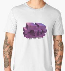 Invading The Third Dimension Men's Premium T-Shirt