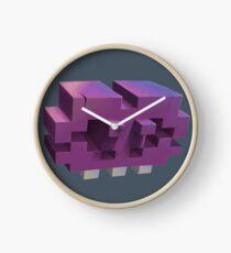 Invading The Third Dimension Clock