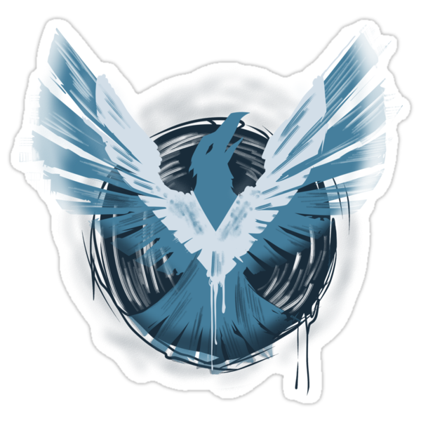 Infamous Second Son True Hero Sticker Stickers By Prototypicality