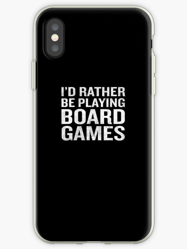 I'd Rather Be Playing Board Games Funny Fathers Gift by JapaneseInkArt