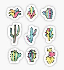 Pegatina Cactus brillantes