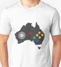 The Australian Nintendo 64 Controller T-Shirt