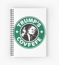 Trump's Covfefe Spiral Notebook
