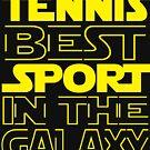 Tennis best sport in the Galaxy von mohsenmohamed