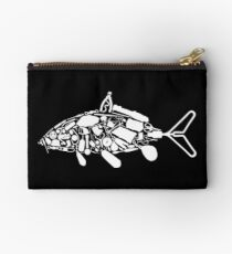 Carpy Diem - Dad's Fishing Shirt Studio Pouch