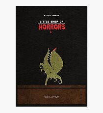 Little Shop of Horrors Alternative Minimalist Poster Photographic Print