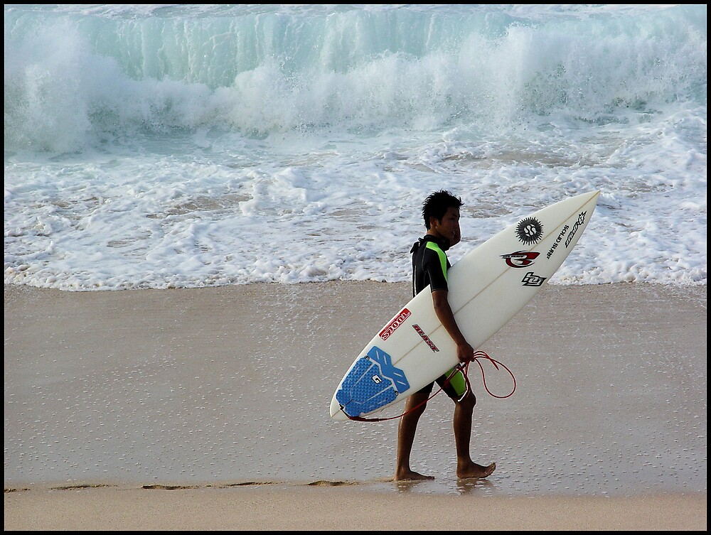 Northshore Surfer by Photoflirt