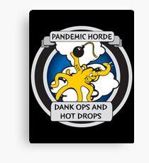 Pandemic Horde Canvas Print