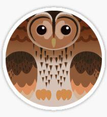 Eurasian Tawny Owl Sticker