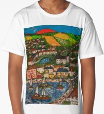 Day Out in Cornwall Long T-Shirt