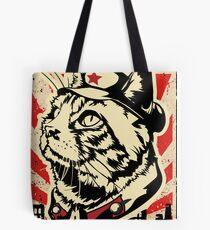 MKC Furdell Catstro Poster Tote Bag