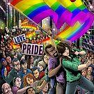 SheVibe Presents Embrace Progress - SheVibe LGBTQ Pride 2017! - Cover Art by shevibe
