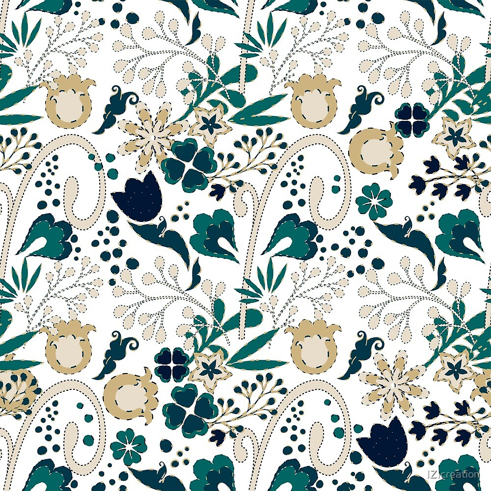 Floral seamless pattern. by IZIcreation