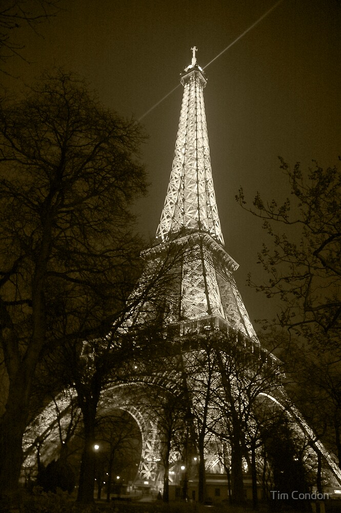 Eiffel Tower 3 by Tim Condon