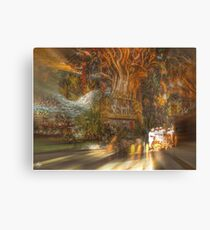 The Past Alive in the Present in Ghana Canvas Print