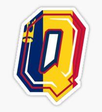 Queens Q Sticker