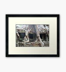 Preah Khan, Cambodia Framed Print