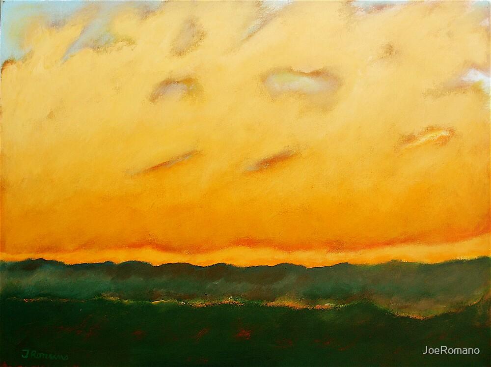 BURNING LANDSCAPE by JoeRomano