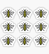 Manchester Worker Bee Stickers Sticker