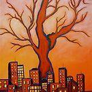 THE RED TREE by JoeRomano