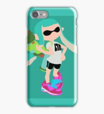 Inkling Girl (Aqua) - Splatoon iPhone Case/Skin