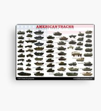 American Tracks 1917-2017 Metal Print